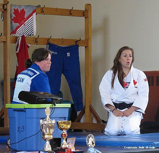 Tournée féminine de judo