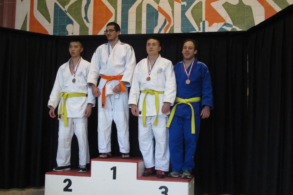 Samuel médaille de bronze