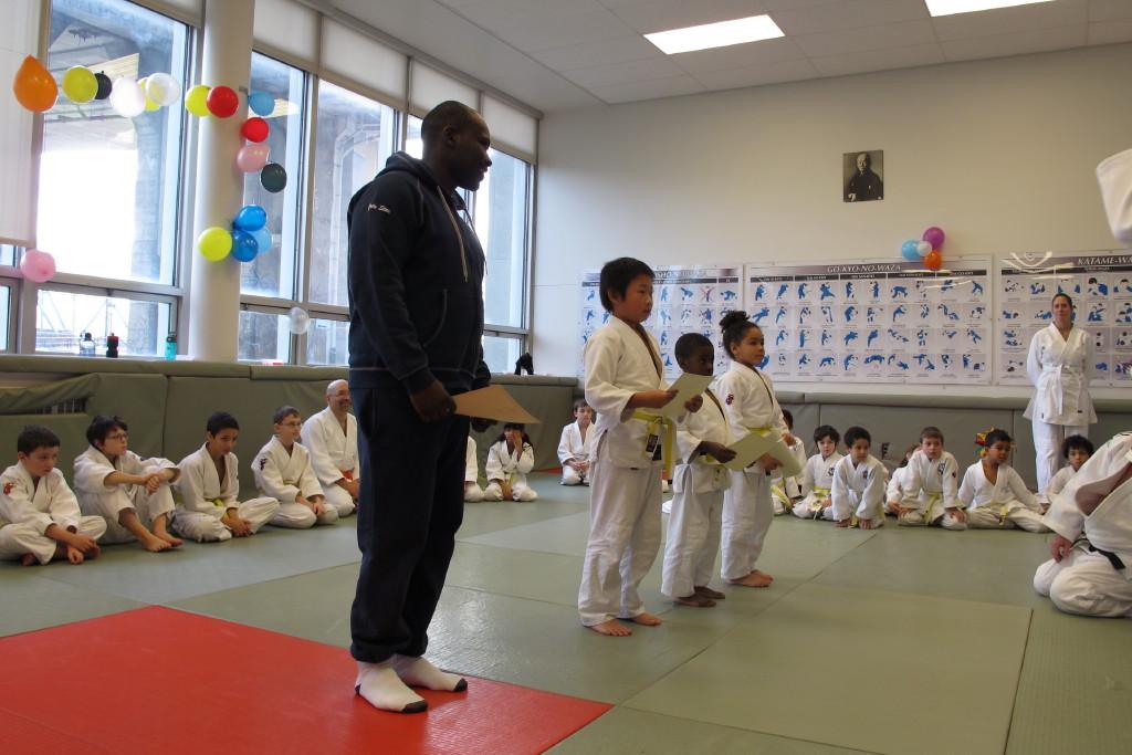 Judokas des mois de septembre, octobre, novembre & décembre