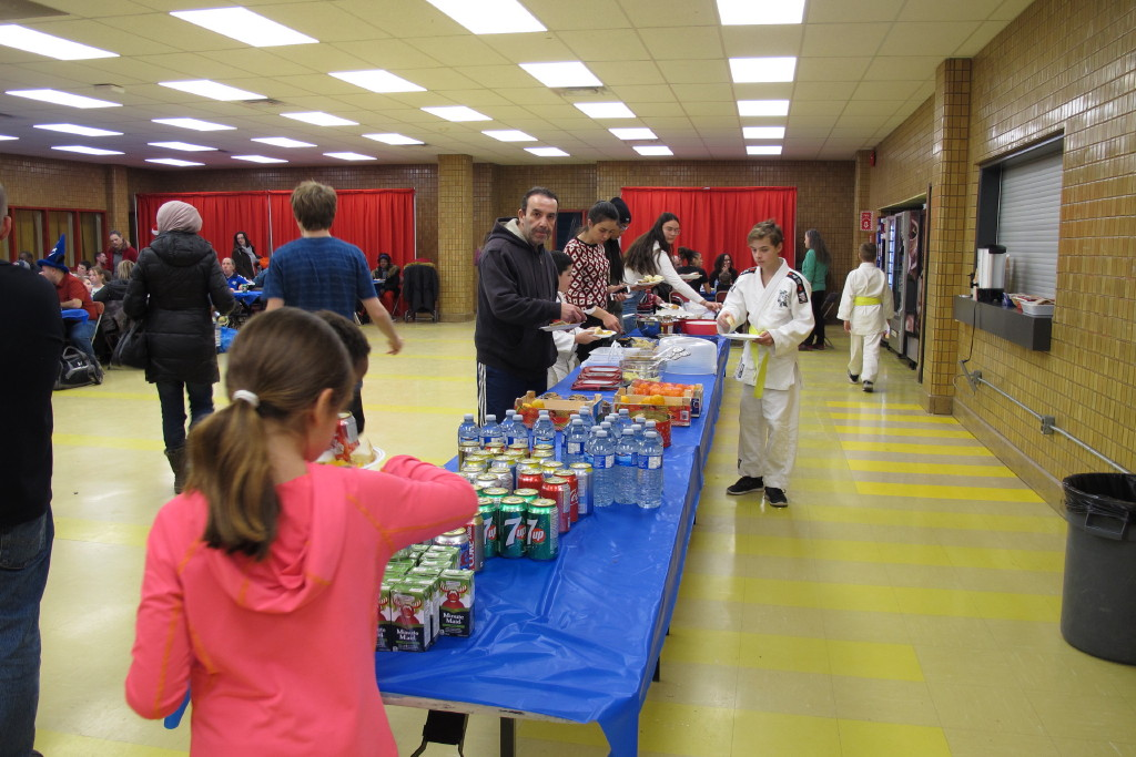 Le buffet communautaire