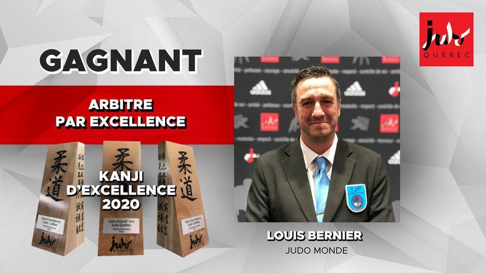 Louis bernier arbitre par excellence 2020