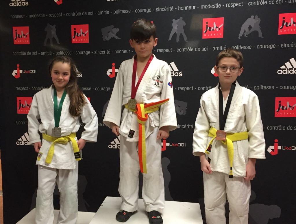 Adrian médaille de bronze dans le U12!