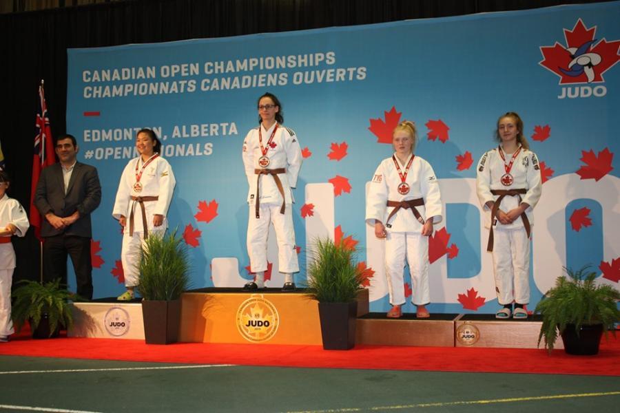 Violette championnats canadiens