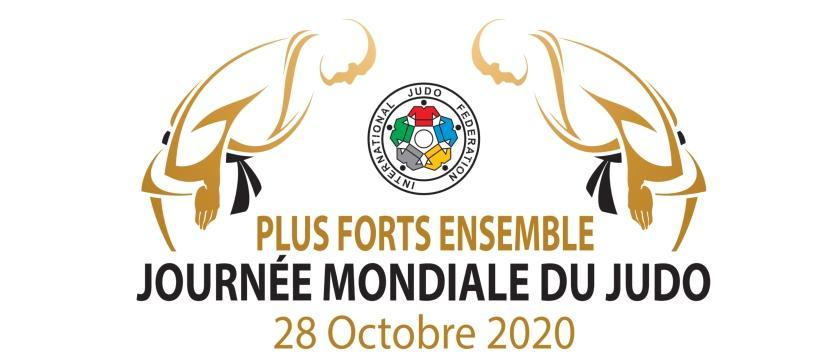 World judo day 2020 plus forts ensemble logo 1